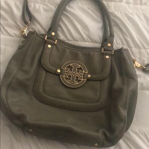 Tory Burch leather hobo bag